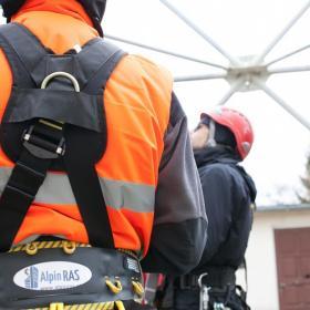 Kurs alpinizmu przemysłowego - szkolenie wysokościowe. Dlaczego warto?